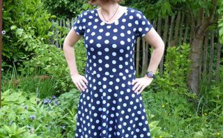 Lady Skater dress MMMay day 14