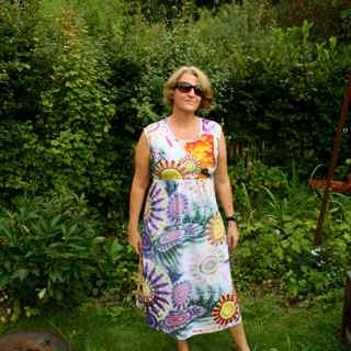 Washidress als Maxidress